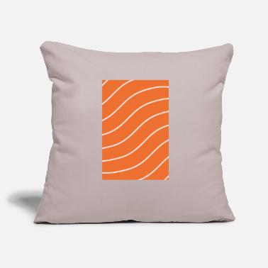 Salmon Salmon - salmon - Pillowcase 17,3'' x 17,3'' (45 x 45 cm)
