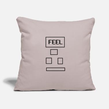 Feeling Feel - Pillowcase 17,3'' x 17,3'' (45 x 45 cm)