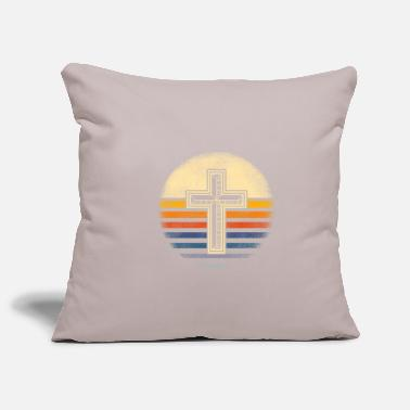 Crucifixion Cross RETRO VINTAGE cross vintage gift idea - Pillowcase 17,3'' x 17,3'' (45 x 45 cm)