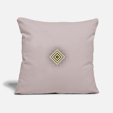 Blueness Pattern - Geometry - Stylish Design - Retro - Pillowcase 17,3'' x 17,3'' (45 x 45 cm)
