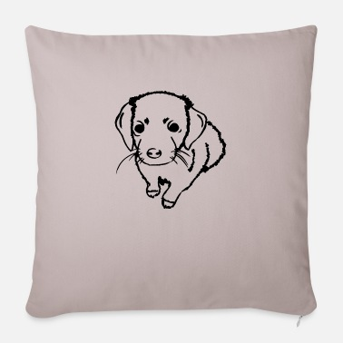 Puppies puppies - Pillowcase 17,3'' x 17,3'' (45 x 45 cm)