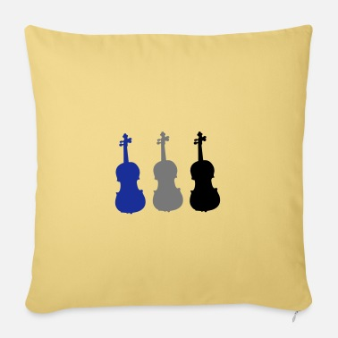 Fiddle fiddle - Pillowcase 17,3'' x 17,3'' (45 x 45 cm)