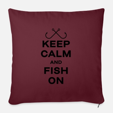 Fisherman Fishing fishing gift angler fisherman fish keep - Pillowcase 17,3'' x 17,3'' (45 x 45 cm)