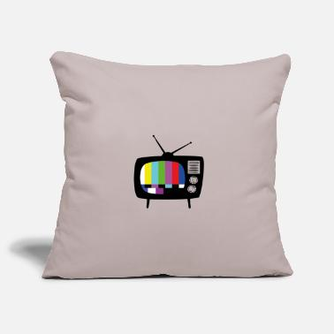 Watch Tv TV - Pillowcase 17,3'' x 17,3'' (45 x 45 cm)