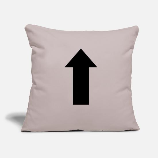 Arrow Pillow Cases - arrow - Pillowcase 17,3'' x 17,3'' (45 x 45 cm) light grey