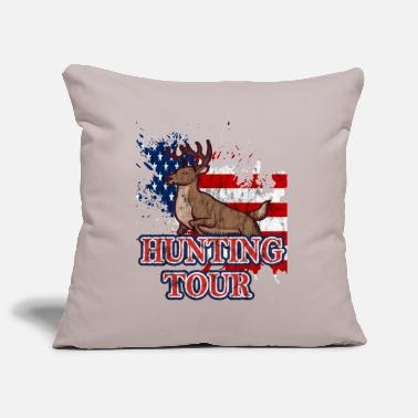 Hunting hunting hunting, - Pillowcase 17,3'' x 17,3'' (45 x 45 cm)