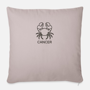 Cancer CANCER | cancer - Pillowcase 17,3'' x 17,3'' (45 x 45 cm)