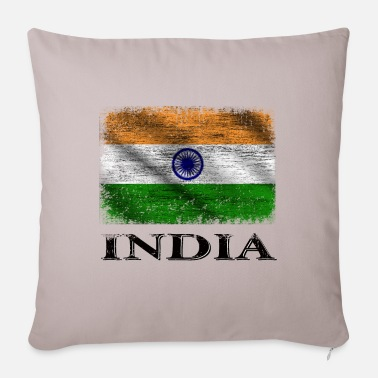 India India Flag, India - Pillowcase 17,3'' x 17,3'' (45 x 45 cm)