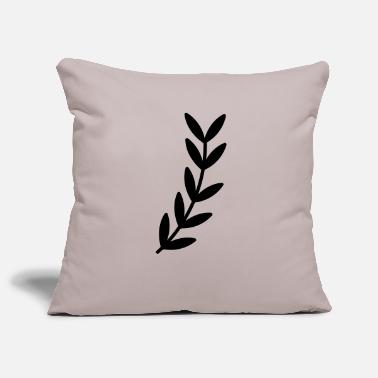 Sheet Branch branch leaf leaves plant nature shrub branches - Pillowcase 17,3'' x 17,3'' (45 x 45 cm)