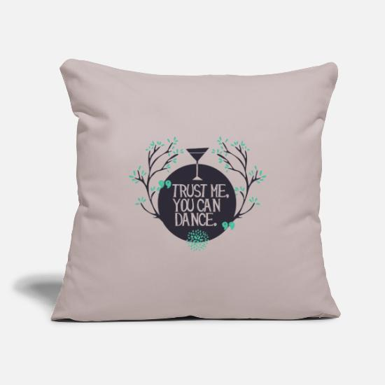Dance Class Pillow Cases - Dance - Pillowcase 17,3'' x 17,3'' (45 x 45 cm) light taupe