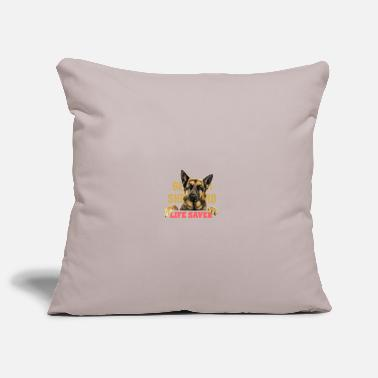 Life Saver German shepherd life saver - Pillowcase 17,3'' x 17,3'' (45 x 45 cm)