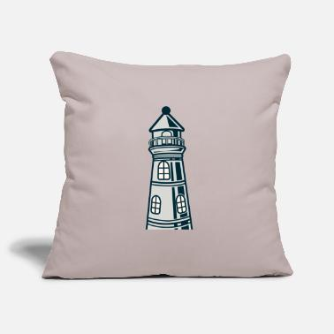 Crook Lighthouse crooked - Pillowcase 17,3'' x 17,3'' (45 x 45 cm)