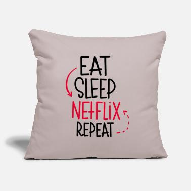 Netflix Eat Sleep Netflix Repeat - Copricuscino