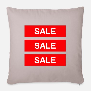 Sale Sale Sale Sale - Coloured - Pillowcase 17,3'' x 17,3'' (45 x 45 cm)