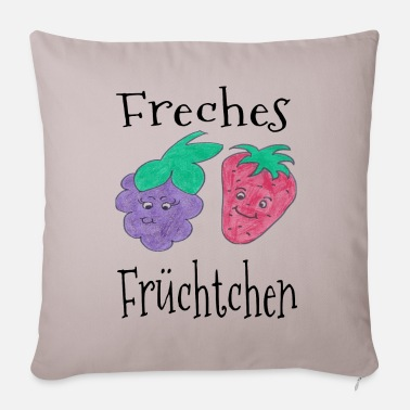 Colour Cheeky fruit - summer / trend / cool - Pillowcase 17,3'' x 17,3'' (45 x 45 cm)
