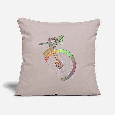 Road Bike Road bike fixie bike gift - Pillowcase 17,3'' x 17,3'' (45 x 45 cm)