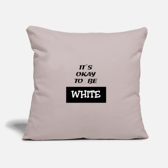White Pillow Cases - white - Pillowcase 17,3'' x 17,3'' (45 x 45 cm) light grey