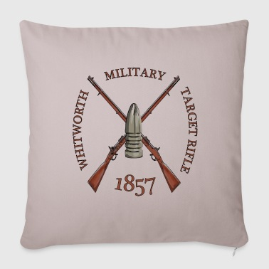 MILITARY TARGET RIFLE - Sofa pillow cover 44 x 44 cm