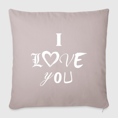 I Love You - Sofa pillow cover 44 x 44 cm