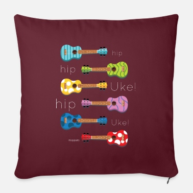 Hip Hip Hip Uke_colors - Kussenhoes