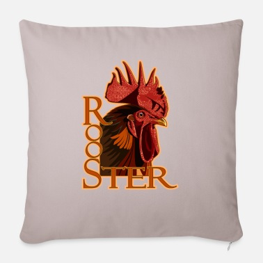 Rooster - Pillowcase 17,3'' x 17,3'' (45 x 45 cm)