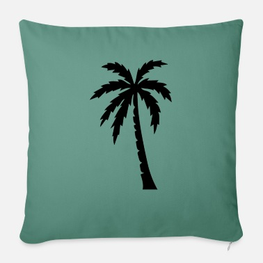 Palm Palm palm trees - Pillowcase 17,3'' x 17,3'' (45 x 45 cm)