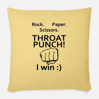 Throat Throat Punch - Pillowcase 17,3'' x 17,3'' (45 x 45 cm)