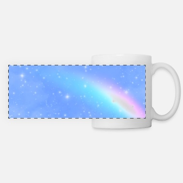Heaven Magical Fantasy Sky Stardust Dreamy Rainbow - Mug panoramique