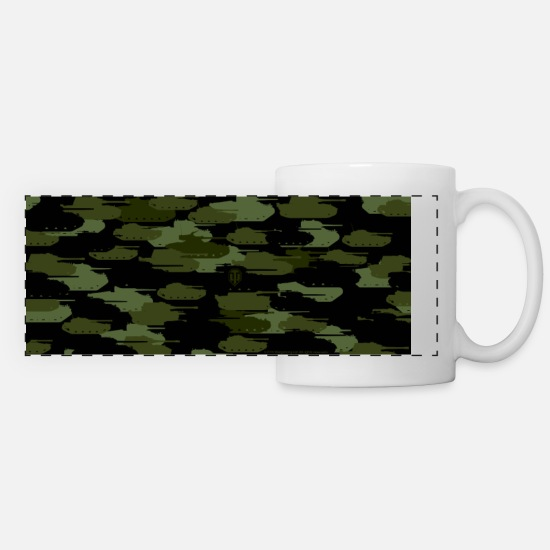 Gioco Tazze & Accessori - World of Tanks Tank Camouflage Mug - Tazza panoramica bianco