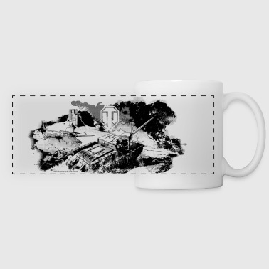 World of Tanks Battlefield Mono Mug - Kubek panoramiczny
