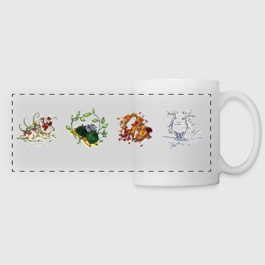 Season-Bunnies - Panoramic Mug