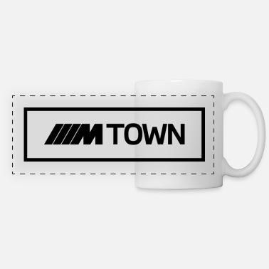 BMW M Town black - Panoramic Mug