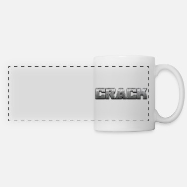 Letter crack - Panoramic Mug