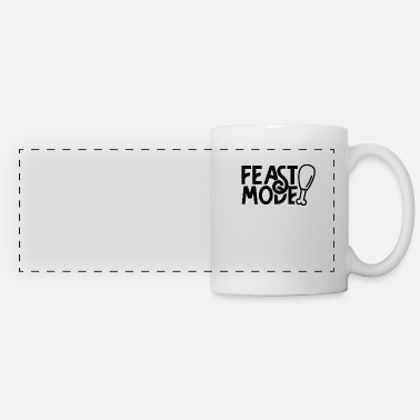 Present Feast mode at feasting feast feasting - Panoramic Mug