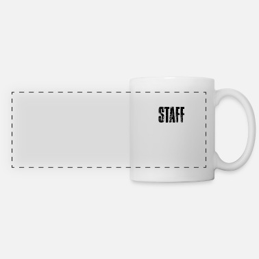 Staff Staff staff - Panoramic Mug