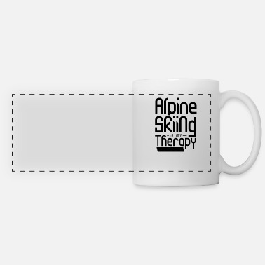 Vacation Alpine skiing - Panoramic Mug