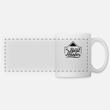 Roof Roofing Roofing Team Roofing - Panoramic Mug