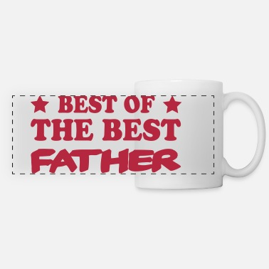 Best Of Best of the best father - Mug panoramique contrasté et blanc