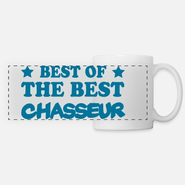 Best Of Best of the best chasseur - Mug panoramique contrasté et blanc