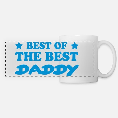 Best Of Best of the best daddy - Mug panoramique contrasté et blanc