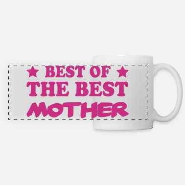 Best Of Best of the best mother - Mug panoramique contrasté et blanc