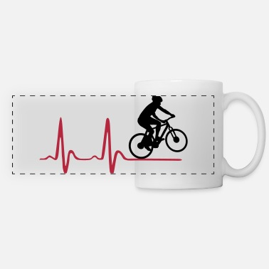 Hjerte &amp Cycler & Heartbeat, Cycling, EKG, ECG - Panoramakopp