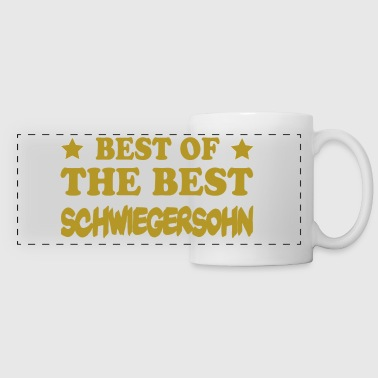 Best of the best schwiegersohn - Panoramatasse