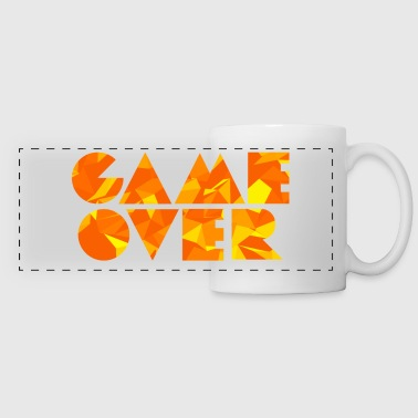Game Over (Low Poly) - Taza panorámica