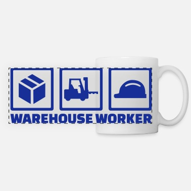 Worker Warehouse worker - Tazza panoramica
