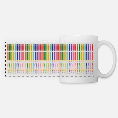 pencils - Panoramic Mug