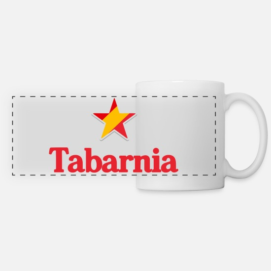 Barcelona Mugs & Drinkware - Stars of Spain - Tabarnia - Panoramic Mug white