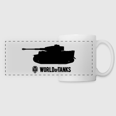 WoT - Tiger Silhouette Black - Panoramic Mug