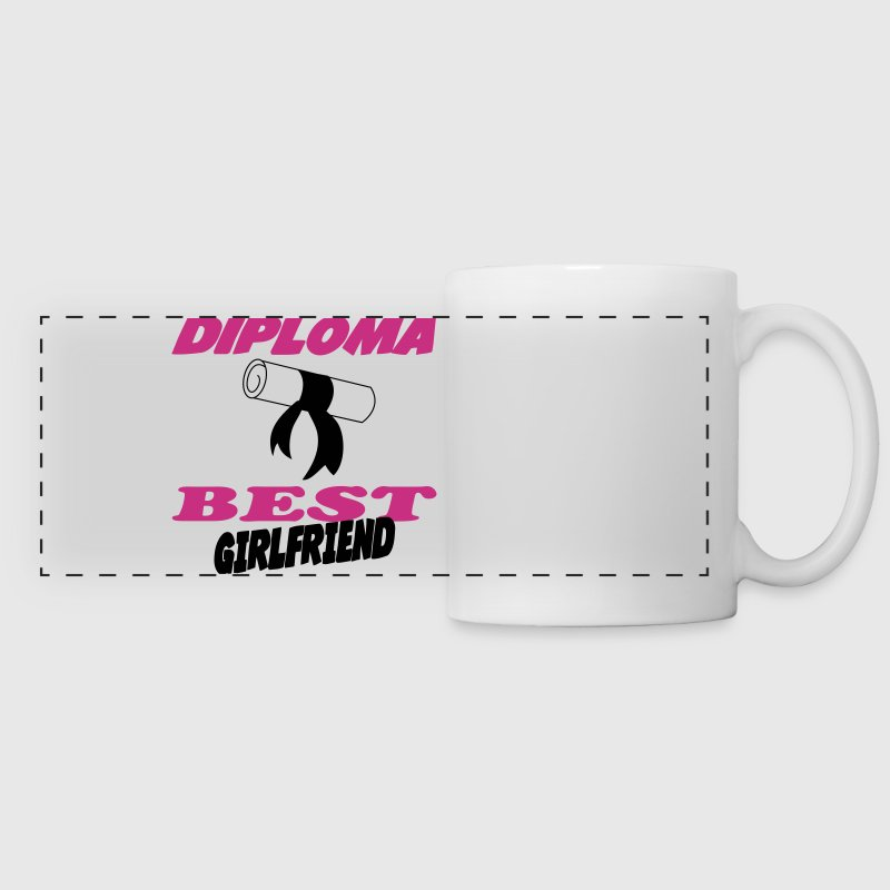 Diploma best girlfriend 333 - Panoramic Mug
