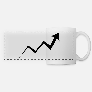 Development Course rising course - black - Panoramic Mug